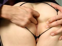 Fingering videos. When a chick wants to reach a fast orgasm then she starts fingering
