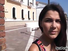 Busty slut Valentina Nappi public fuck in exchange for money
