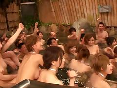An extensive research landed me to this Asian village and I joined the orgy