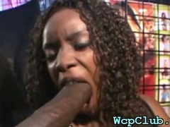 Deep throat and vaginal sex