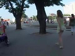 Crazy flashing movie with public scenes 4