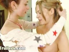 Natasha and Ivana german lesbians