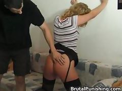 Hardcore bondage and brutal punishement part4