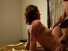 White Slut Amy Amazing First Time Fuck pt2