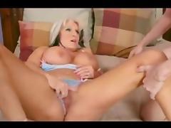 Granny fucked and creampie