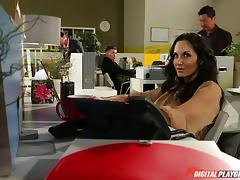 Well fucked milf babe Ava Addams takes a big facial