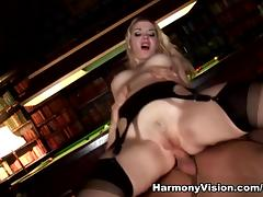 Annette Schwarz in Double Penetrating The Maid - HarmonyVision