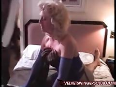 Velvet Swingers Club Party Real Amateur sluts fucking BBC
