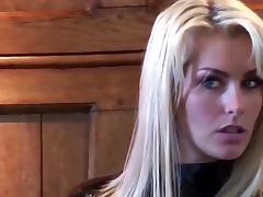Sexy british blonde
