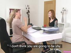 Foxy Nessy in Tattooed Emo Licks Agent to Orgasm - FemaleAgent