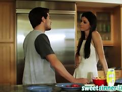 Milf India Summer Gets Banged In Kitchen By Big Rod