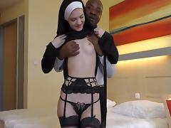 Reverend brown preaches to a junior nun 2