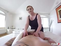 Extreme fuck with busty horny chubby