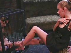 Lesbian femdom mistress likes to humiliate