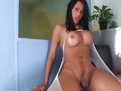 Shemale Office Strokers