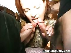 Excellent gang bang in doctors office part6