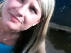Pretty amateur girl pounded with stranger for some money