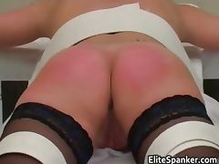 Bad woman Treatment whipping scene part3