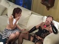 Pretty anal fucked by a crossdresser