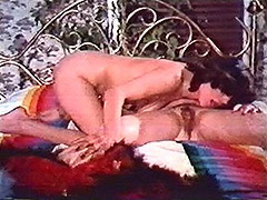 Horny Lesbians Pleasing Each Other 1970