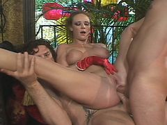 Audrey hollander's dp sex
