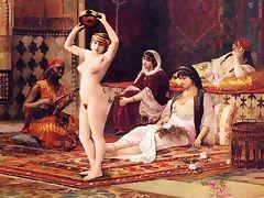 Miss Fernande's Harem Tour Erotic Fotomontage