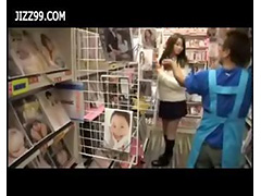 schoolgirl staff fucked in comic book shop when in working 03