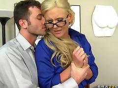 Blonde Busty Teacher Phoenix Marie Teaching How To Fuck