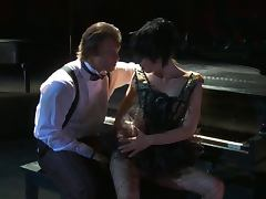 Piano player fucks naughty girl