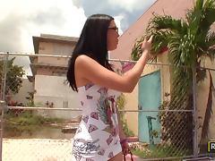 Cherry Shagging Her Boyfirend While On Holidays