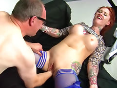 Tallulah Tease is getting fist in her pussy