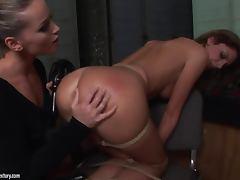 Sexy Bambi wants to be punished by hot Kathia Nobili