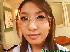 Akina Miyase Asian schoolgirl