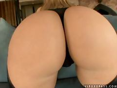 Big booty Alexis Texas gets fucked cowgirl style on a sofa