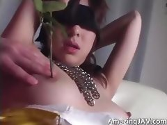 Blindfolded videos. Sexy ladies are blindfolded in order to increase the enjoyment and then fucked