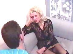 Horny Granny still knows hot to seduce men