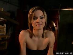 Carolin lets Kathia Nobili destroy her snatch with a dildo