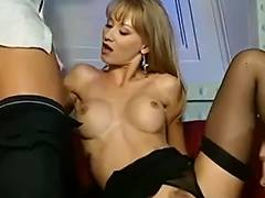 Awesome European babes in hot group sex porn