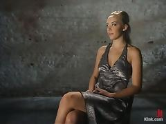 Beautiful Blonde Annette Schwarz Bondage and Sex in BDSM vid