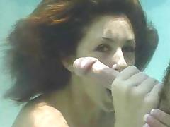 Underwater videos. Enjoy watching terrific fucking scenes that have been made underwater