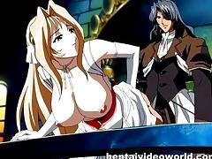 Middle age manga sex for big tit countess