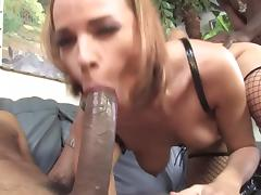 amazing booted babe cuckold bbc