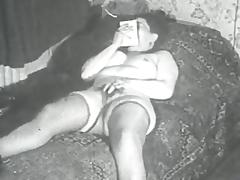 Retro Porn Archive Video: Femmes seules 1950's 13