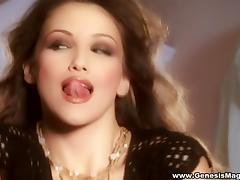 Succulent Celeste Star Masturbates In A Solo Model Video