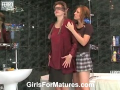 Leonora and Jaclyn lesbian mature